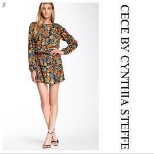 Ce Ce By Cynthia Steffe Drop Waist Dress
